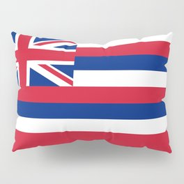 State flag of Hawaii, Authentic color & scale Pillow Sham