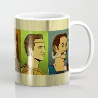 watchmen Mugs featuring It's Always Sunny in Watchmen - Group by Jessica On Paper