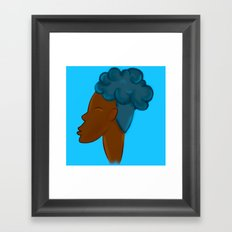 CROWN - SKY  Framed Art Print