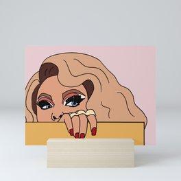 miss vanjie Mini Art Print