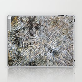 Old Tree Rings Laptop & iPad Skin