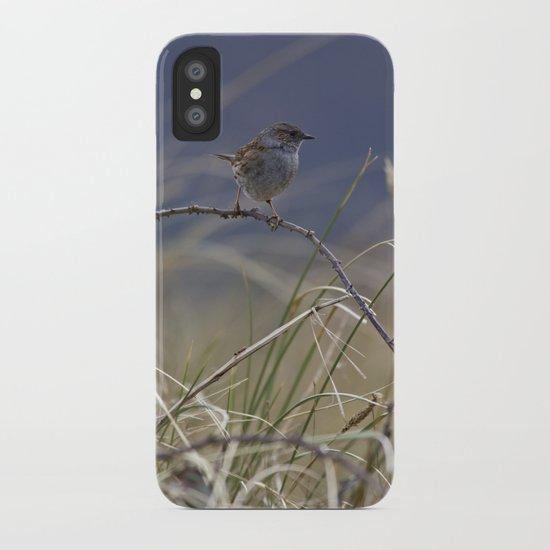 Dunnock iPhone Case
