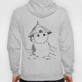 Cute Asian Snowman Hoody