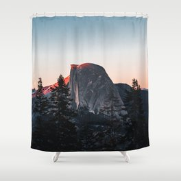 Last Light at Yosemite National Park Shower Curtain