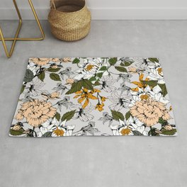 Blooming in autumn II Rug