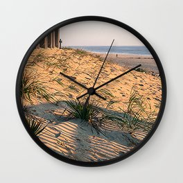 Beach Plants Wall Clock