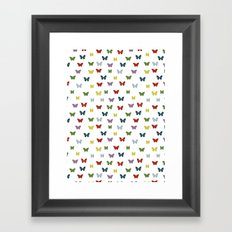 Butterflies 02 Framed Art Print