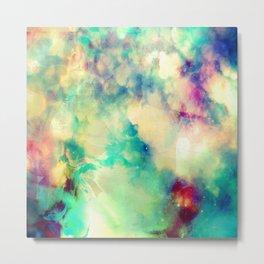 Fume Color Splash 02 Metal Print