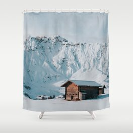 Hello Winter - Landscape and Nature Photography Shower Curtain