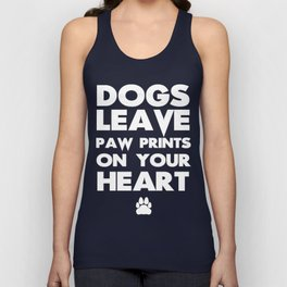 paw prints Unisex Tank Top
