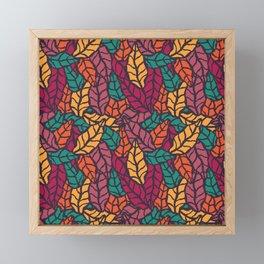 Nature leaves 005 Framed Mini Art Print