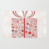 gift card Area & Throw Rugs featuring Gift by aleksander1