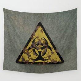 Biohazard Wall Tapestry