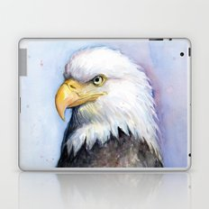 Bald Eagle Watercolor Bird Wildlife Animals Laptop & iPad Skin