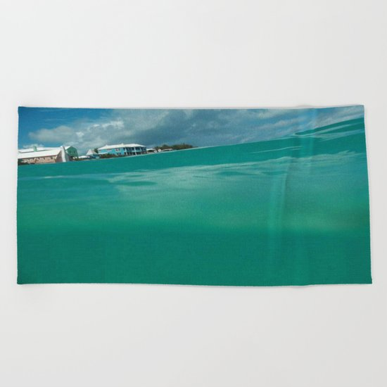 Bermuda Water Beach Towel
