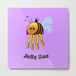 Jelly Bee Metal Print