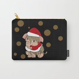 Xmas mammoth #2 (c) 2017 Carry-All Pouch