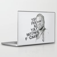 bruce springsteen Laptop & iPad Skins featuring Bruce by Vickn