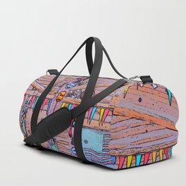 Totem Log Cabin Duffle Bag
