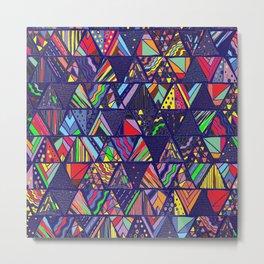 Multicolore Metal Print