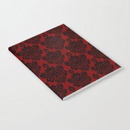 Crimson Damask Notebook