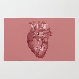 My Heart Skips A Beat Rug