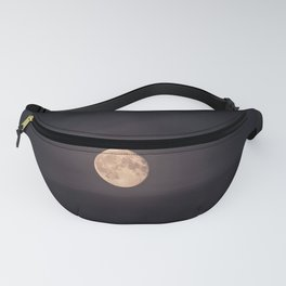 Full Moon over the Ocean Fanny Pack