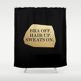 Bra Off Shower Curtain