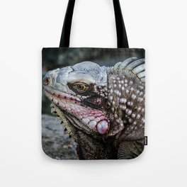 Portrait of an Iguana Tote Bag