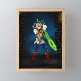 A Link to the Oni Framed Mini Art Print