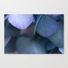 Leaves of Blue, Green and Purple #1 #decor #art #society6 Canvas Print