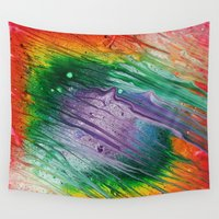 square Wall Tapestries featuring Square by Justin Similey