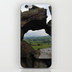 Rock Wall Window iPhone & iPod Skin