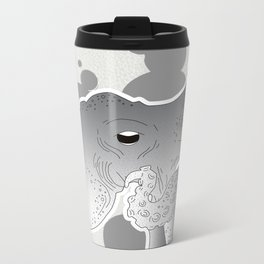 Octopi My Heart Metal Travel Mug