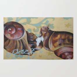 Androgynous Mating Snails: Rug