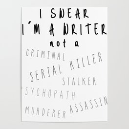 Writing Life Poster