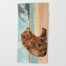 Beach Bear Beach Towel