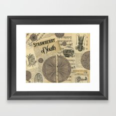 Strawberry of Youth Framed Art Print