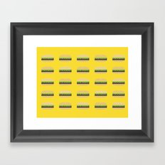 Burgers Framed Art Print