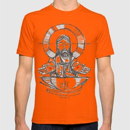 Jesus Christ Eucharist illustration T-shirt