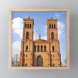 Sant Thomas Church in Berlin Framed Mini Art Print