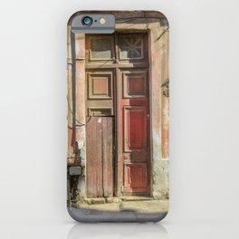 Doors of Havana iPhone Case