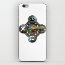 Eat-Sleep-Game-Repeat Epic Graphics Illustration All Gamer Must Have iPhone Skin