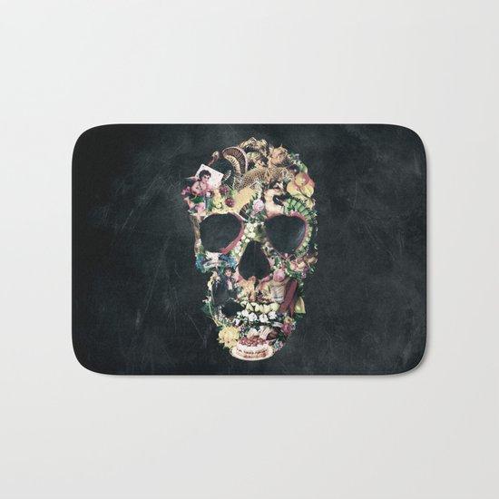 Vintage Skull Bath Mat