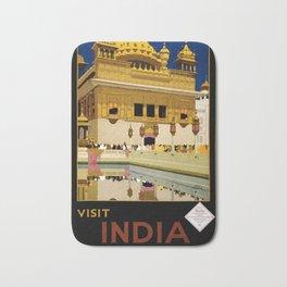Visit India Bath Mat