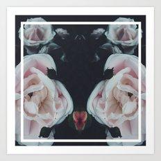 Vintage Flowers 2.0 Art Print