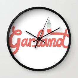 Garland Logo Wall Clock