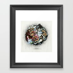 Isolating the Collective Unconscious Framed Art Print