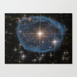 Hubble's Bubble Canvas Print