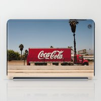 coke iPad Cases featuring Coke Truck by Alex
